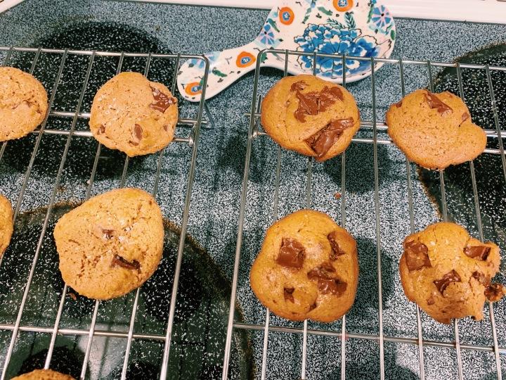 Tahini Chocolate Chip CookieBake-Off