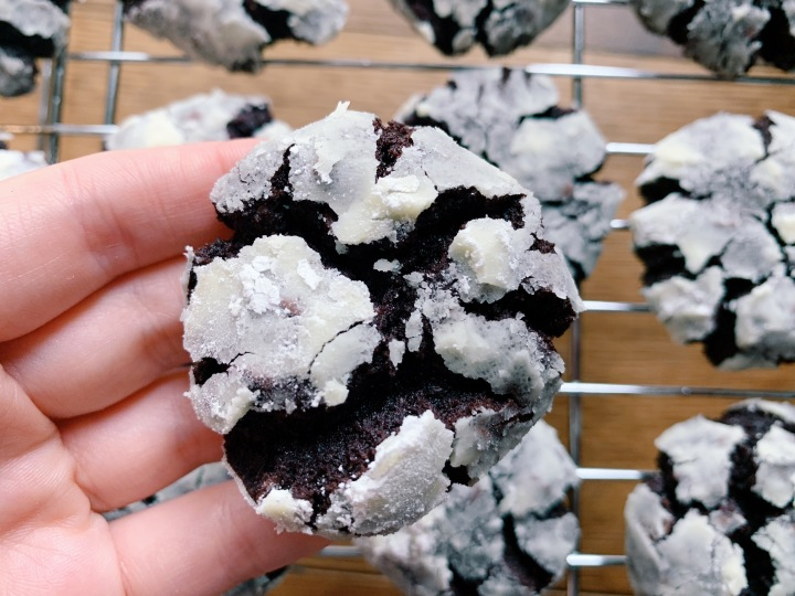 Day 15/30: Chocolate CrinkleCookies