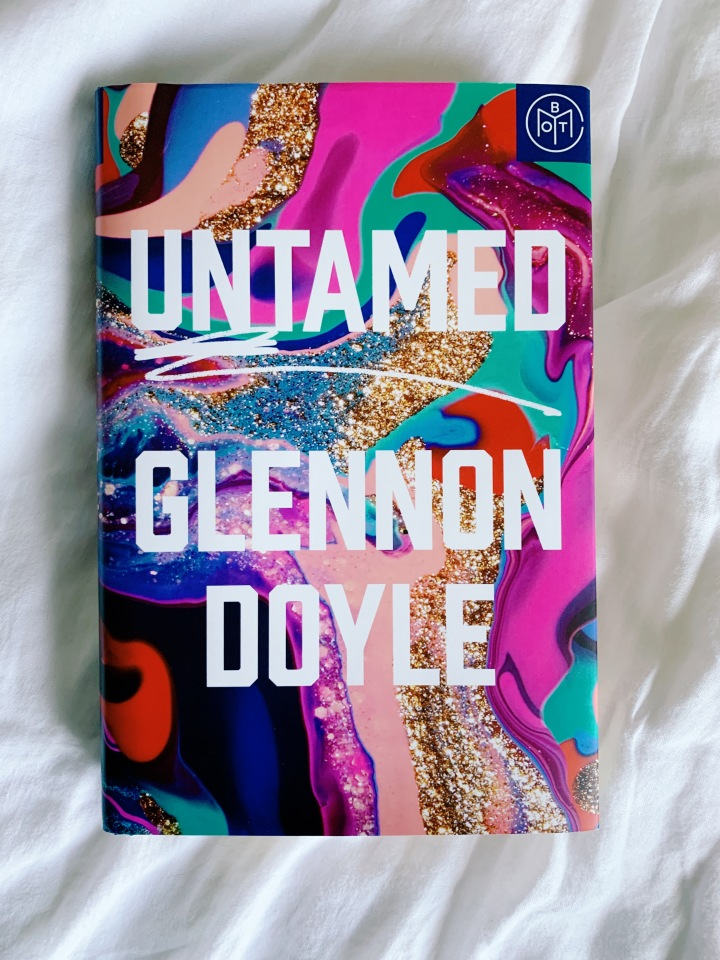 "Photo of the cover of ""Untamed"" by Glennon Doyle."