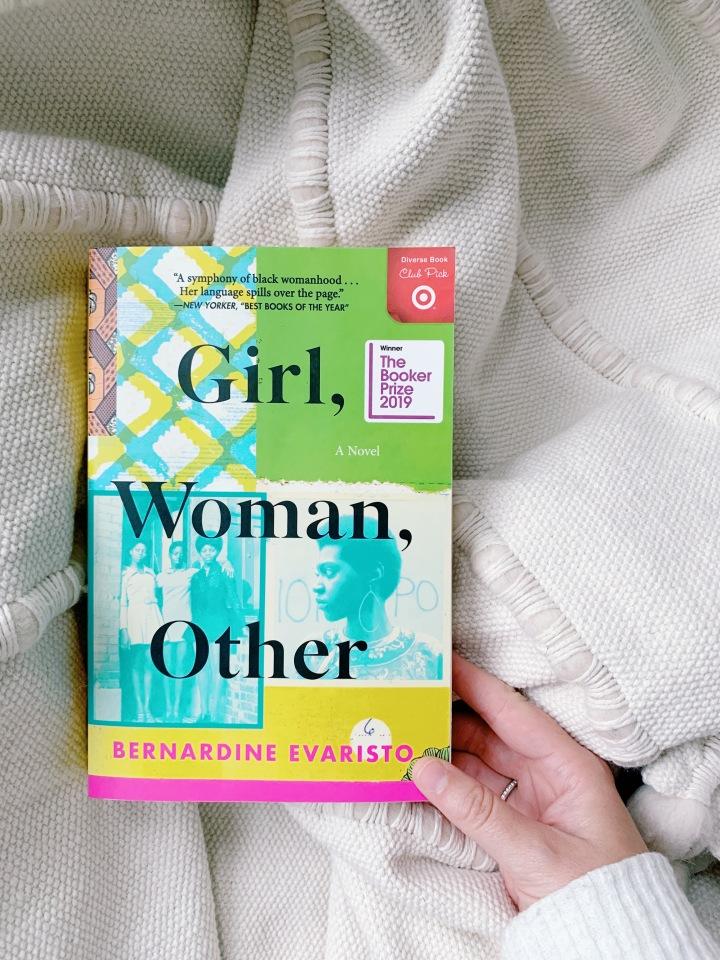 Book #57 of 2020 | Girl, Woman, Other by BernardineEvaristo