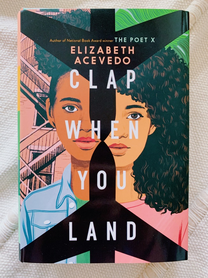 "Image of the cover of ""Clap When You Land"""