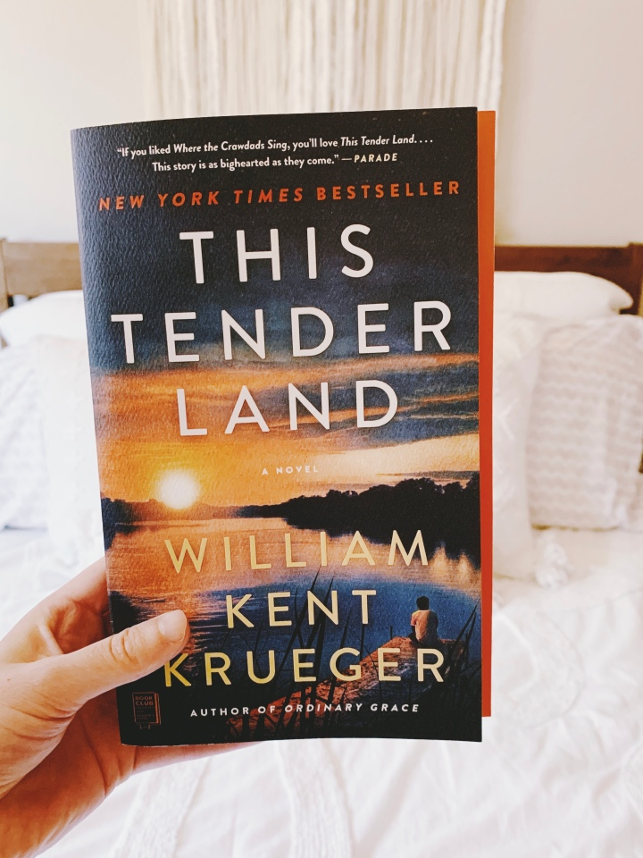 Book #65 of 2020 | This Tender Land by William Kent Krueger