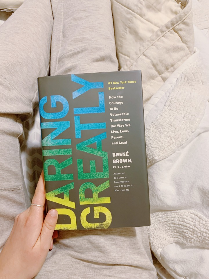 Book #78 of 2020 | Daring Greatly by BrenéBrown