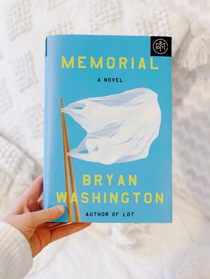 Book #88 of 2020 | Memorial by BryanWashington