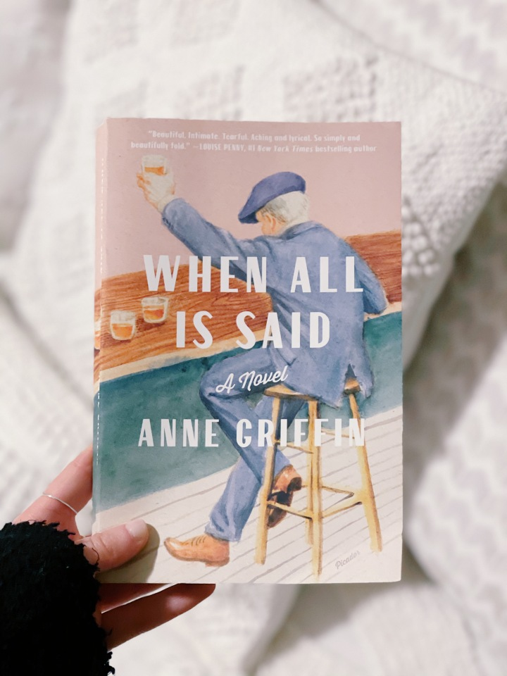 Book #102 of 2020 | When All Is Said by Anne Griffin
