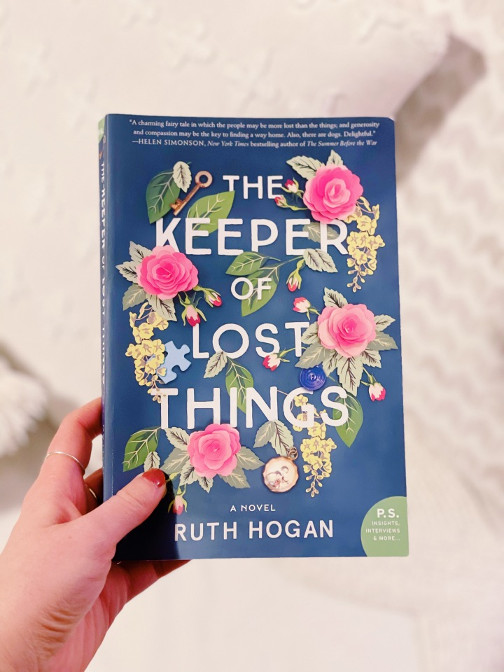 Book #2 of 2021 | The Keeper of Lost Things by Ruth Hogan